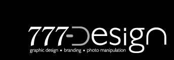 777 Design - Graphic Design, Branding and Photo Manipulation